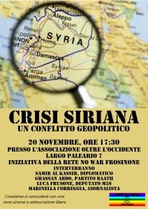 Locandina Siria